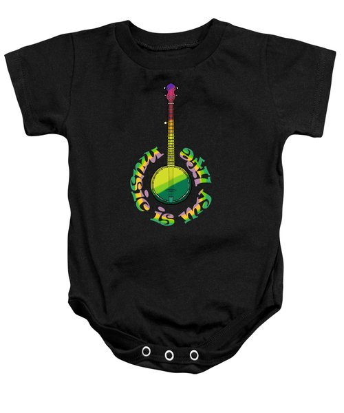 Music Is My Life Baby Onesie