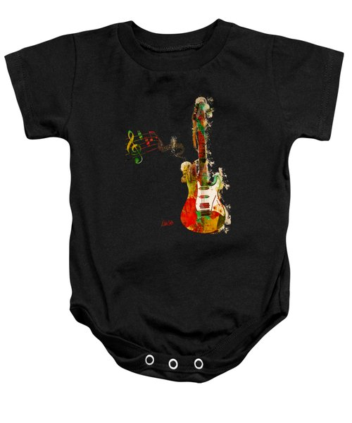 My Guitar Can Sing Baby Onesie