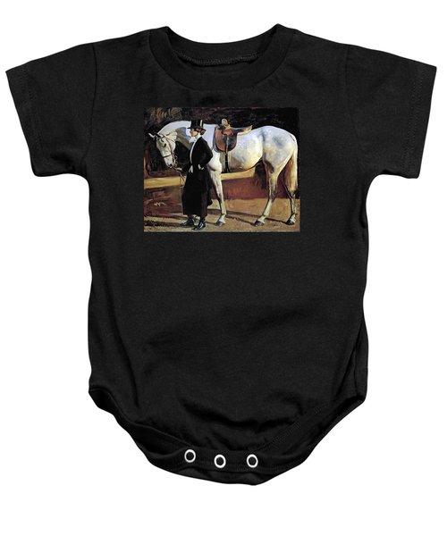My Horse Is My Friend  Baby Onesie