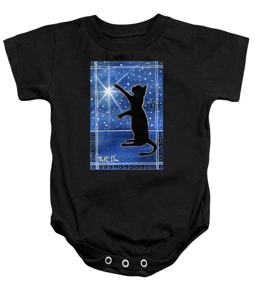My Shinning Star - Christmas Cat Baby Onesie