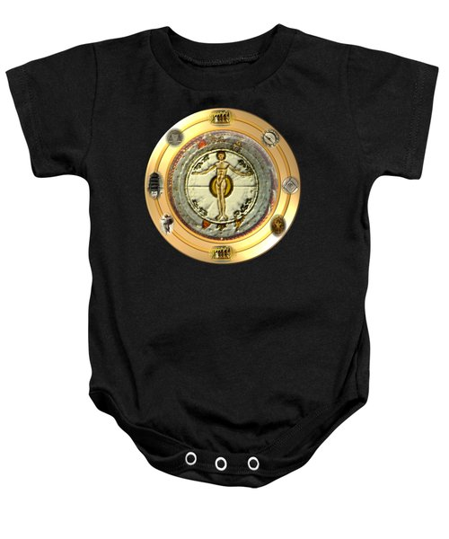 Mysteries Of The Ancient World By Pierre Blanchard Baby Onesie by Pierre Blanchard