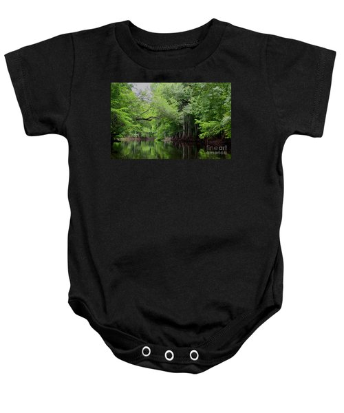 Mystical Withlacoochee River Baby Onesie