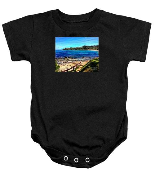 Napili Beach Gazebo Walkway Baby Onesie