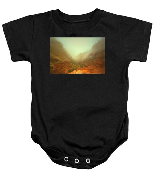 Narrow Out Baby Onesie
