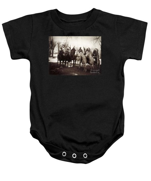 Native American Chiefs Baby Onesie