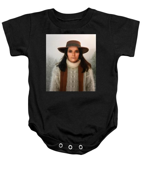 Baby Onesie featuring the photograph Nature Harmony Self Portrait  by Colette V Hera Guggenheim