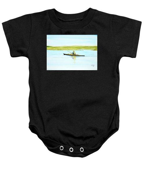 Nauset Kayaker Baby Onesie