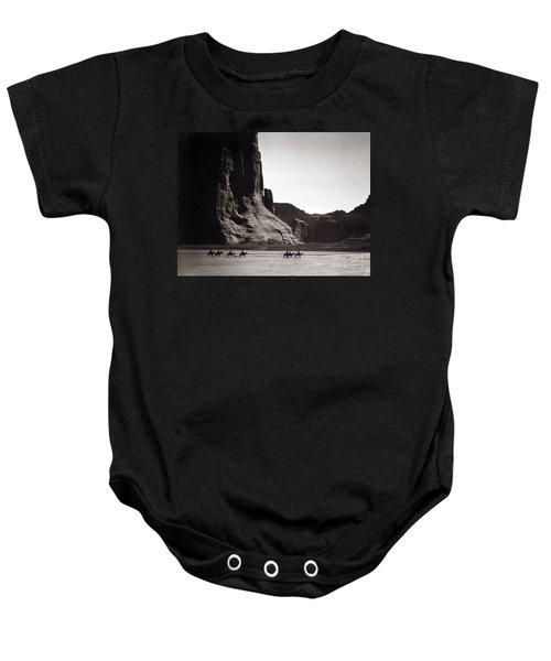 Navajos Canyon De Chelly, 1904 Baby Onesie