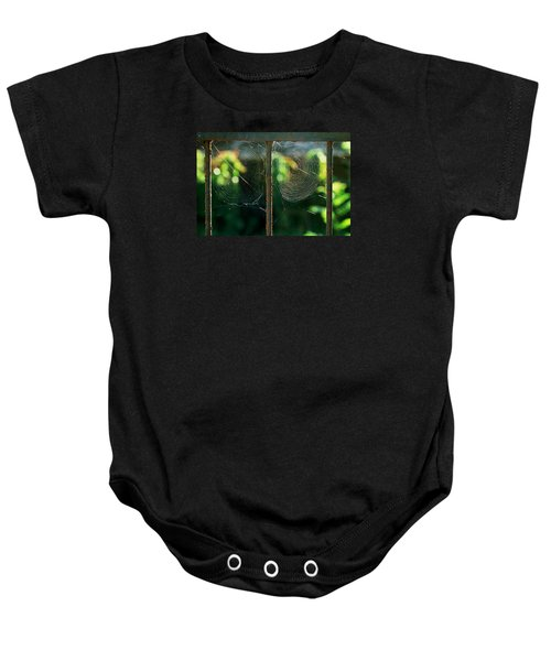 Baby Onesie featuring the photograph near Giverny by Dubi Roman