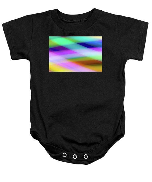 Neon Crossing Baby Onesie