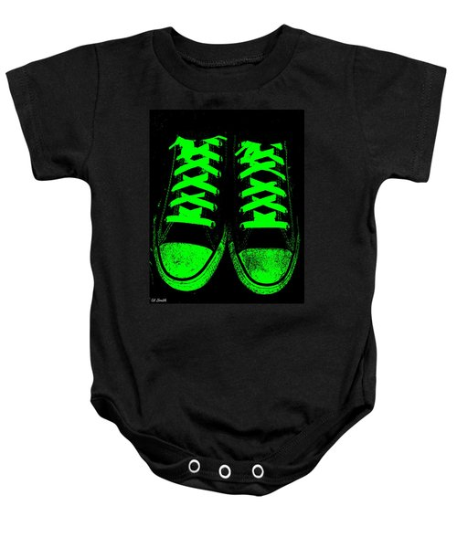 Neon Nights Baby Onesie