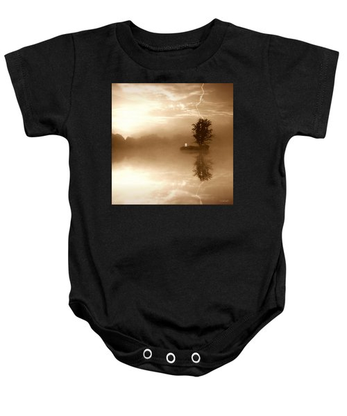 Never Forget Me Baby Onesie