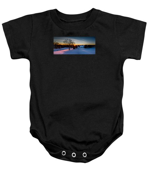 New England Sunrise Baby Onesie