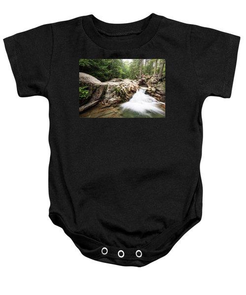 New England Waterfall Baby Onesie