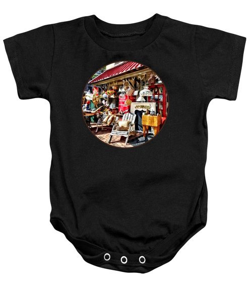 New Hope Pa Antique Shop Baby Onesie