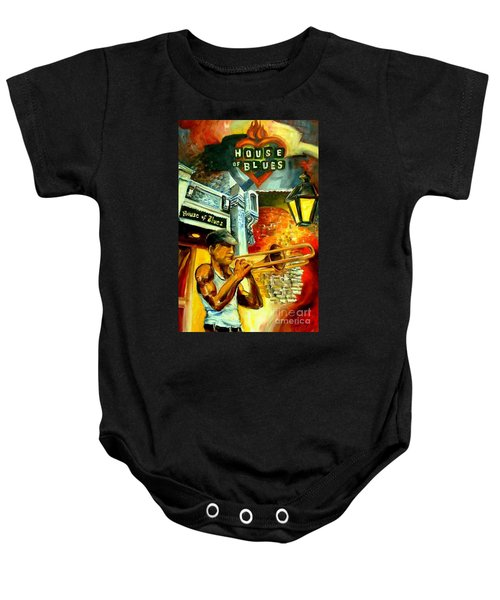 New Orleans' House Of Blues Baby Onesie