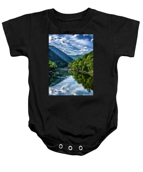 New River Gorge National River 3 Baby Onesie