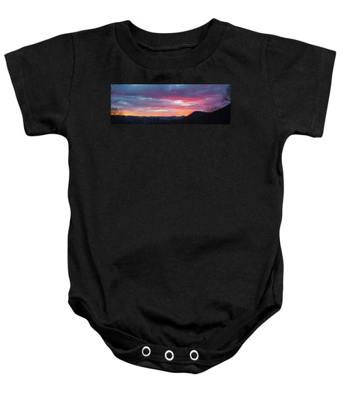 New Year Dawn - 2016 December 31 Baby Onesie