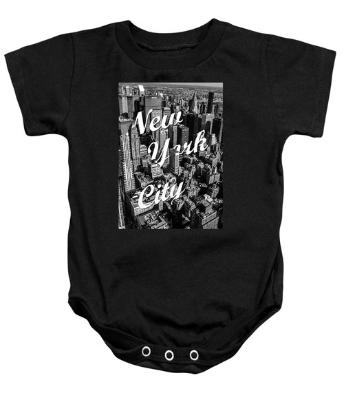 New York City Baby Onesie