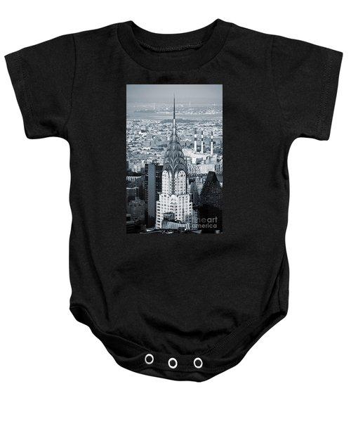New York City - Usa - Chrysler Building Baby Onesie