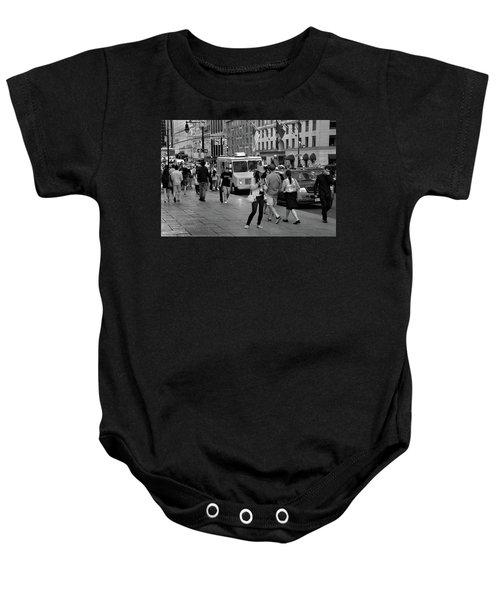 New York, New York 19 Baby Onesie