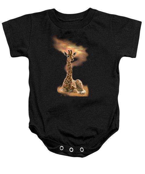 Newborn Giraffe Baby Onesie