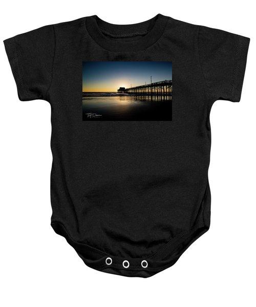 Newport Pier Baby Onesie