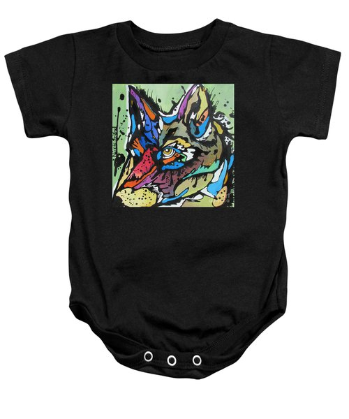 Nico The Coyote Baby Onesie