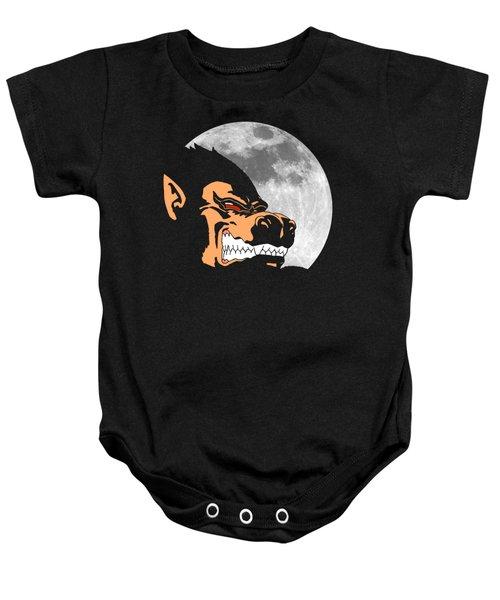 Night Monkey Baby Onesie