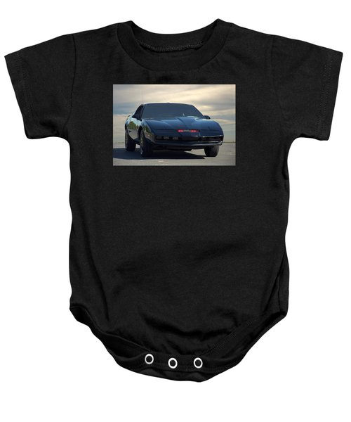 Night Rider 2000 Kitt Replica Baby Onesie
