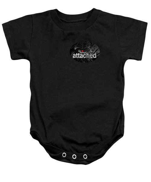 No Strings Attached Baby Onesie