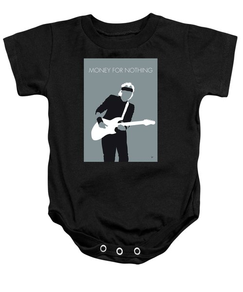 No107 My Mark Knopfler Minimal Music Poster Baby Onesie