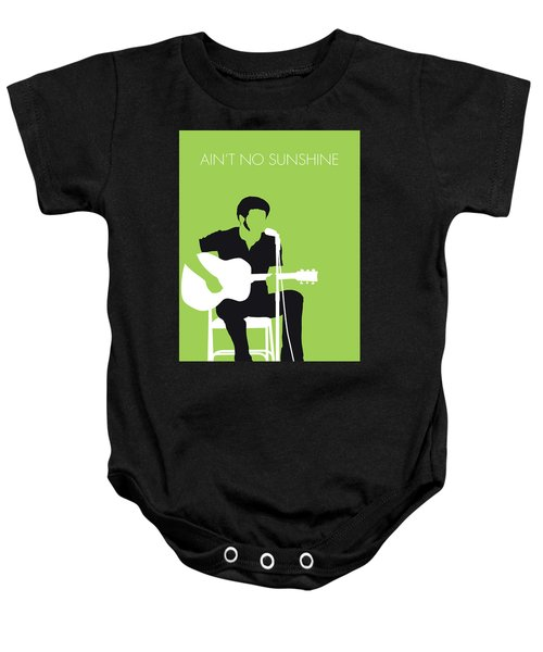 No156 My Bill Withers Minimal Music Poster Baby Onesie