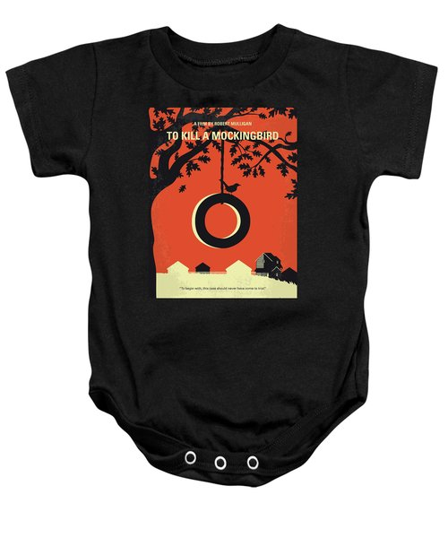 No844 My To Kill A Mockingbird Minimal Movie Poster Baby Onesie