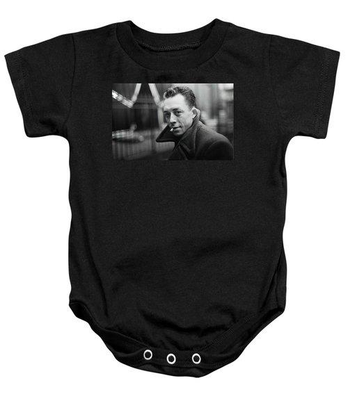 Nobel Prize Winning Writer Albert Camus Paris 1944 - 2015           Baby Onesie