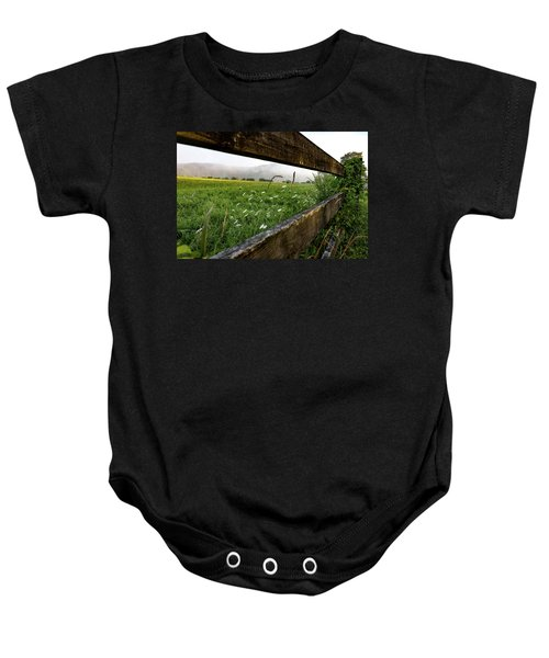 North Road Fence Baby Onesie