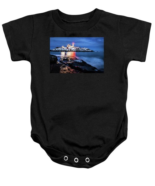 Nubble Lights Baby Onesie