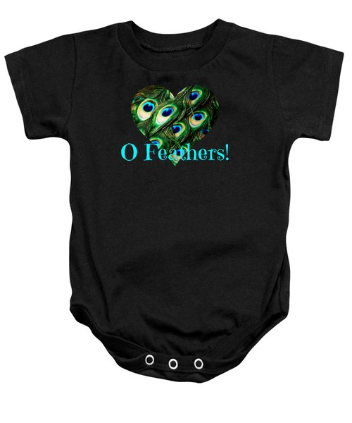 O Feathers Baby Onesie