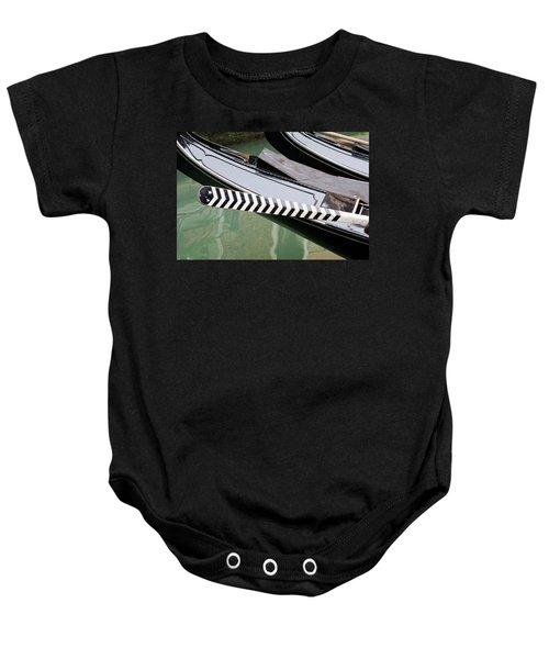 Oar Gondola Venice Baby Onesie