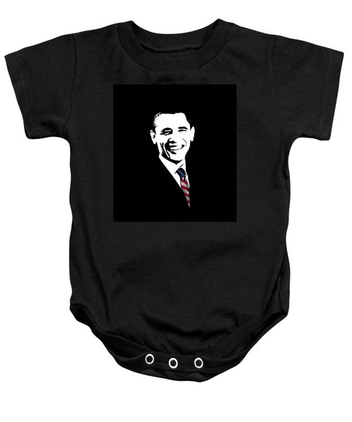 Obama Baby Onesie by War Is Hell Store