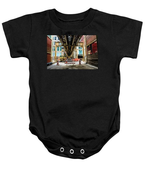 Obey The Signs Baby Onesie