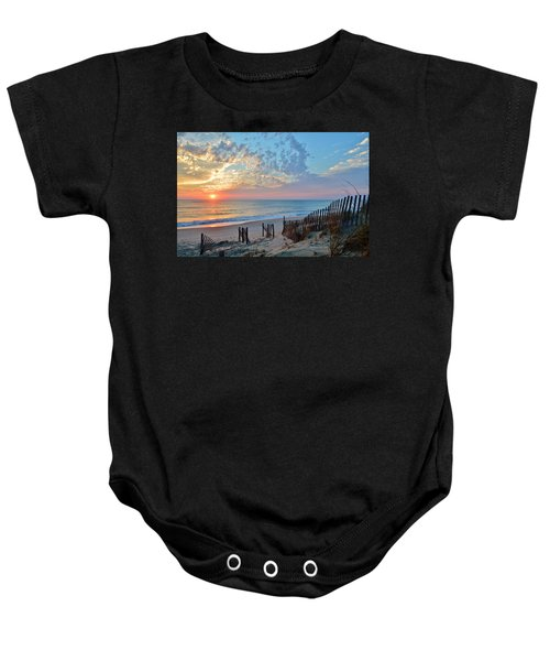 Obx Sunrise September 7 Baby Onesie