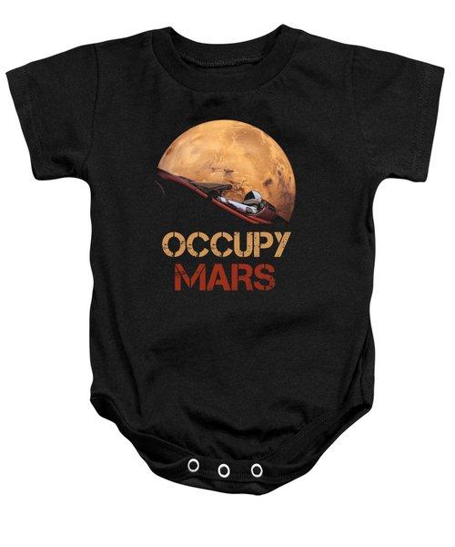 Occupy Mars Baby Onesie