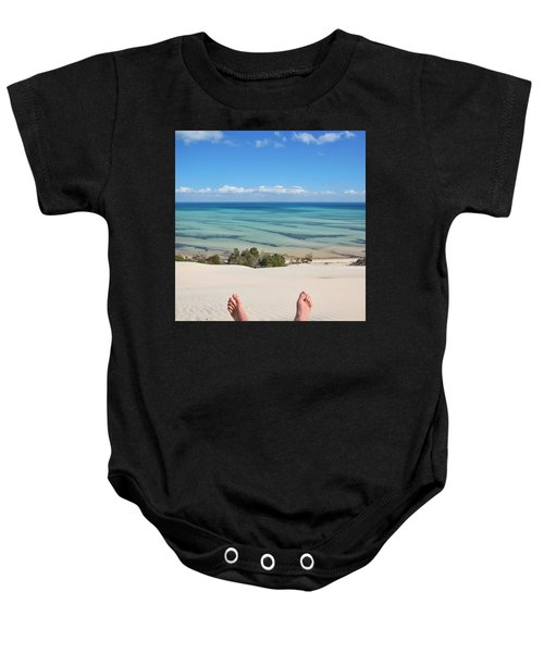 Ocean Views Baby Onesie