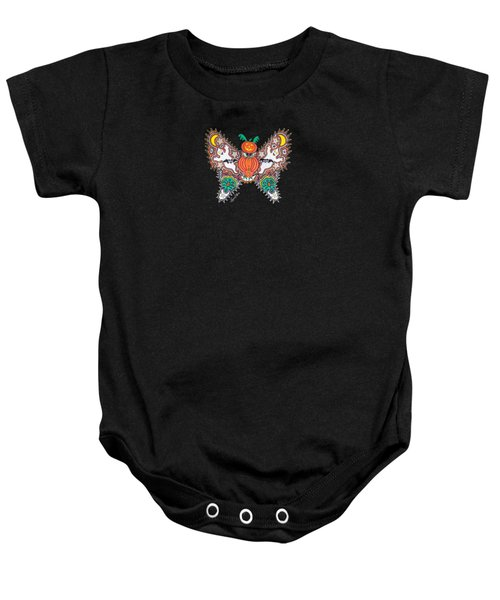 October Butterfly Baby Onesie