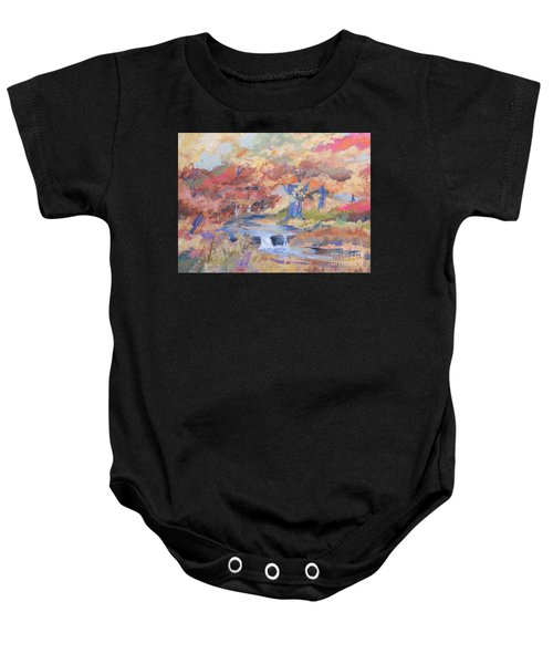 October Walk Baby Onesie