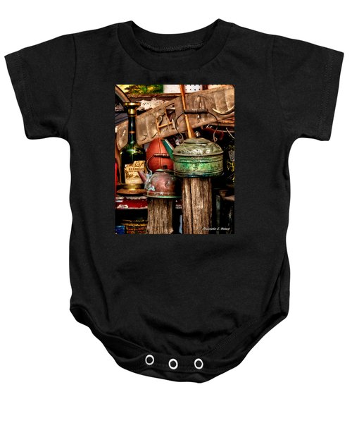Odds And Ends Baby Onesie