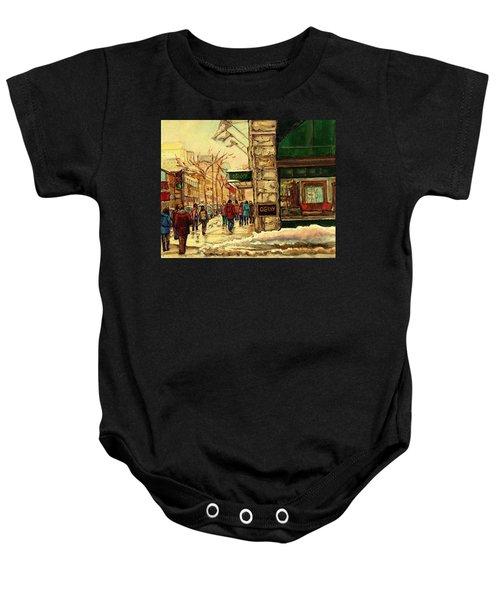 Ogilvys Department Store Downtown Montreal Baby Onesie