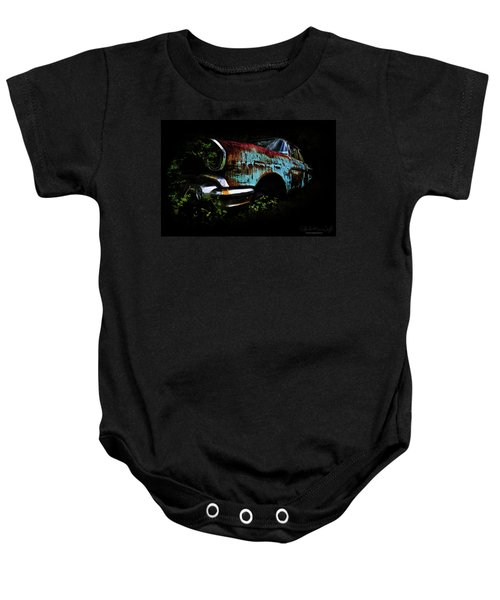 Old Blue Chevy Baby Onesie