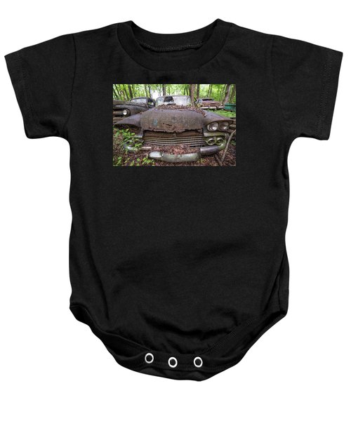 Old Car City In Color Baby Onesie